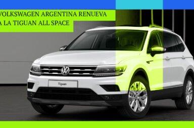 Volkswagen Argentina renueva a la Tiguan All Space