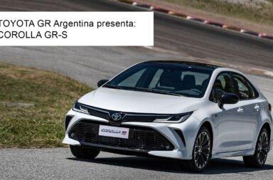 Llegó a Argentina el Toyota Corolla GR-Sport