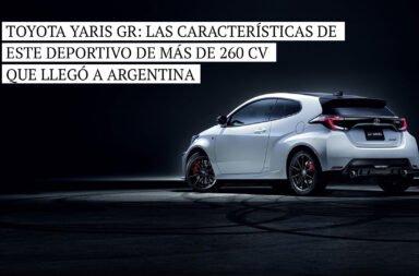 Toyota Yaris GR: Las características de este deportivo de más de 260 CV que llegó a Argentina