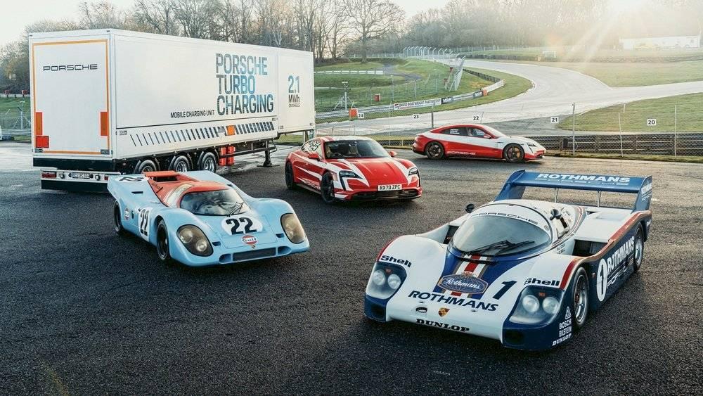 El Porsche Taycan logra 13 récords en una sola jornada ¿Cuáles fueron?