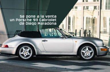 Se pone a la venta un Porsche 911 Cabriolet de Diego Maradona