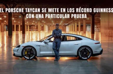 El Porsche Taycan se mete en los Récord Guinness con una particular prueba