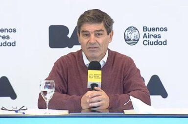 Fernán Quirós sostuvo que el ritmo de vacunación es