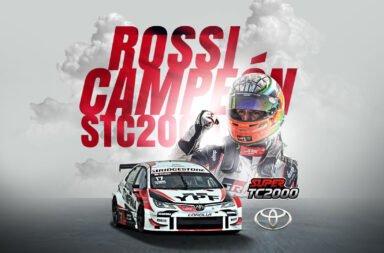 Rossi y Toyota se coronaron campeones del Súper TC2000