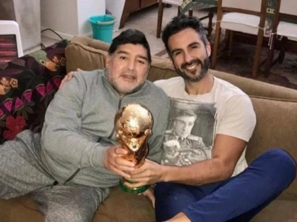 Maradona y Luque