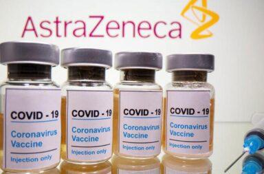 Llegan al país 218 mil dosis de la vacuna de AstraZeneca por el sistema Covax