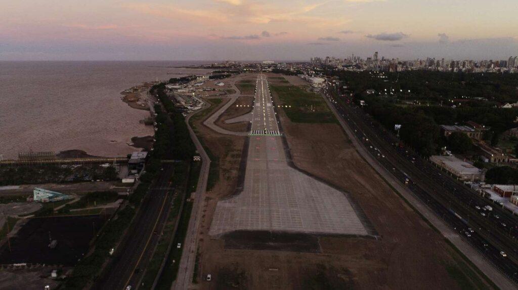 Con una reforma total vuelve a operar el aeroparque Jorge Newbery