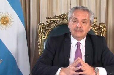 En cadena nacional Alberto Fernández sostuvo que