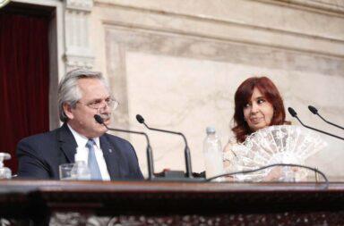 Alberto Fernánez en el Congreso: