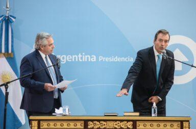 Alberto Fernández puso en funciones a Martín Soria como ministro de Justicia y Derechos Humanos