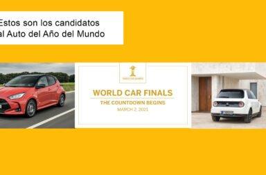 """Estos son los candidatos al """"Auto del año"""" del mundo"""