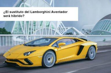 ¿El sustituto del Lamborghini Aventador será híbrido?