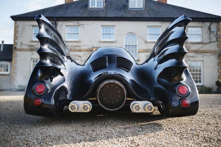 ¿Te querés sentir Batman? Se pone a la venta un Batimóvil creado con la base de un Mustang