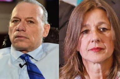 Berni insultó y echó al segundo de Seguridad de nación en la conferencia de prensa tras el hallazgo de Maia: