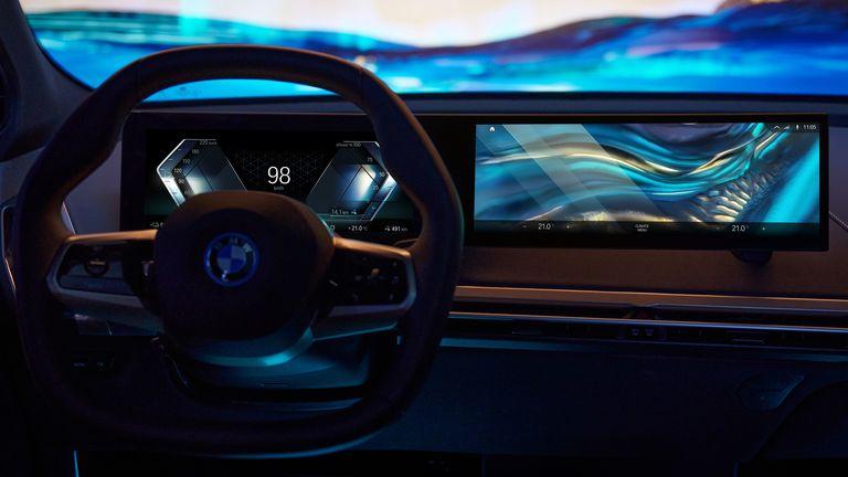 La era digital llegó: Conocé los impactantes tableros de los futuros BMW