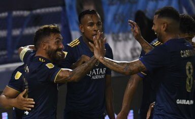 Boca le metió 7 a Vélez