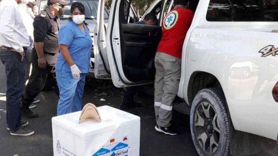 Choque de Ricardo Cardozo con Vacunas