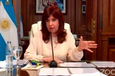 Cristina Kirchner declara en la causa dólar futuro :