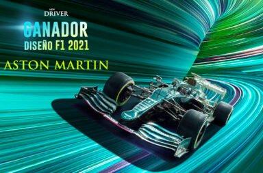 El Aston Martin de F1 fue elegido como el auto más lindo de la categoría