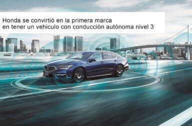 Honda se convirtió en la primera marca en tener un vehiculo con conducción autónoma nivel 3