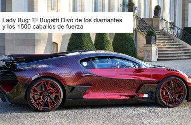 Lady Bug: El Bugatti Divo de los diamantes y los 1500 caballos de fuerza