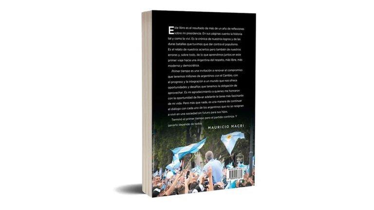 Comenzó la preventa del libro de Macri: dónde, cómo, cuanto vale y cómo es la tapa