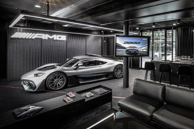 Aparecen más fotos del hypercar de Mercedes AMG con motor de F1