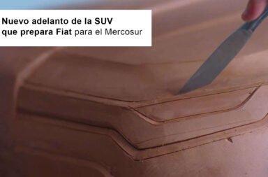 Nuevo adelanto de la SUV que prepara Fiat para el Mercosur