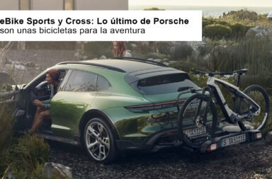 eBike Sports y Cross: Lo último de Porsche son unas bicicletas para la aventura