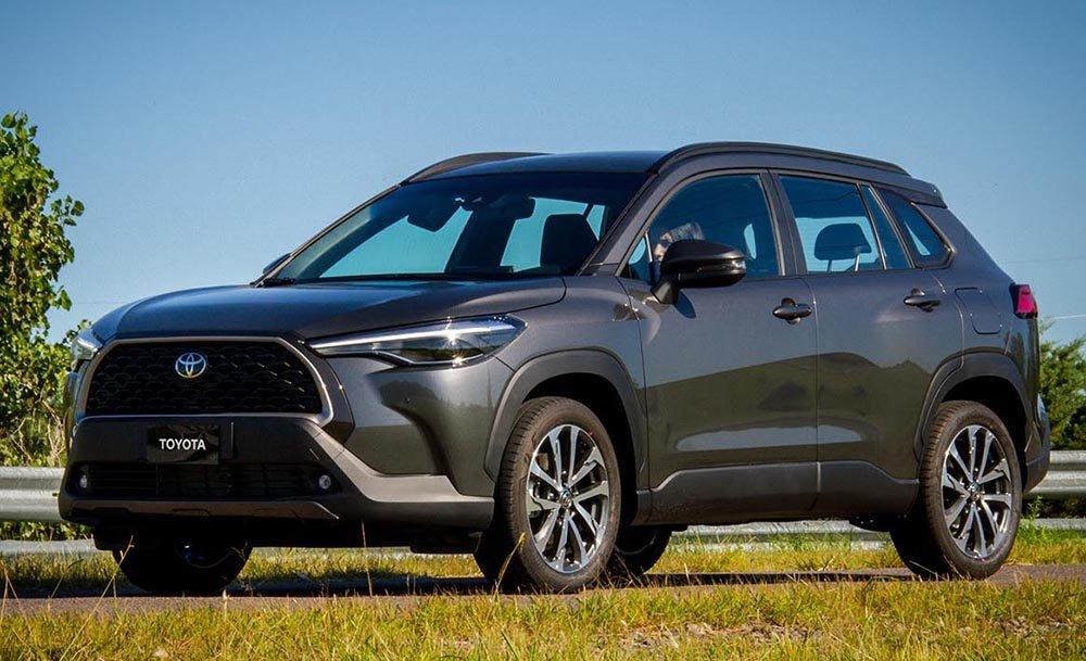 Toyota Argentina lanzó el Corolla Cross