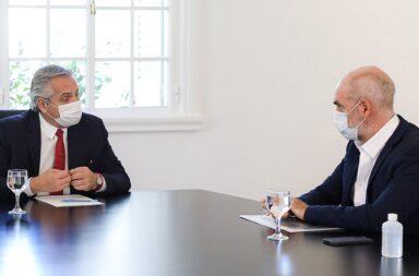 Se espera que la reunión entre Alberto Fernández y Horacio Rodríguez Larreta no modifique las restricciones