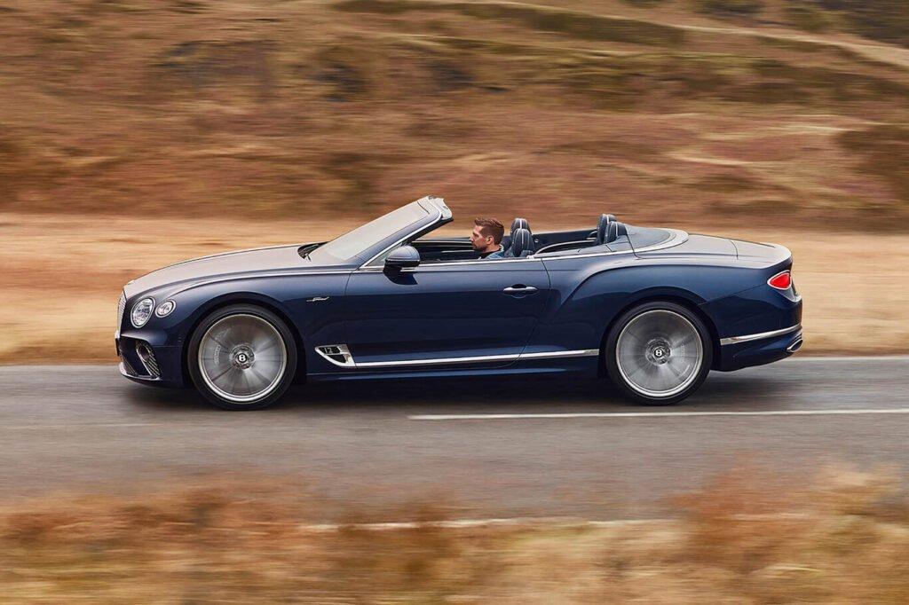 Bentley presentó el lujoso Continental GT Speed para disfrutar a cielo abierto