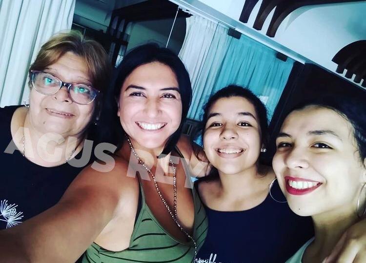Primicia: así pasaron las pascuas las hermanas de Diego Maradona en la casa de Cantilo