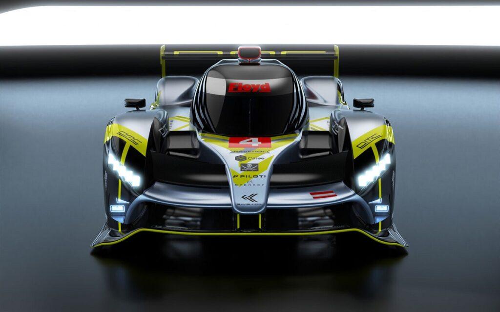 Así es el hypercar en el que trabaja el argentino Guerrieri para Le Mans 2022