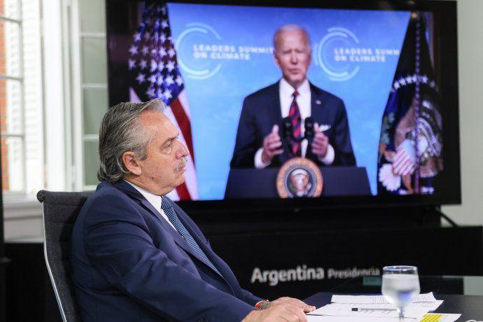 En el marco de la Cumbre Climática, Alberto Fernández habló frente a los líderes mundiales y mencionó a la deuda