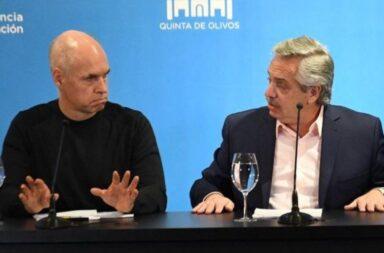Alberto Fenández y Horacio Rodríguez Larreta se reunirán este viernes a las 10