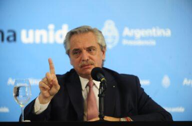 """""""A mí la rebelión no"""", sostuvo hoy Alberto Fernández"""