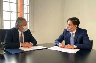 Alberto Fernández y Nicolás Trotta analizaron la