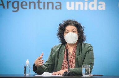 Vacunas conferencia de Carla Vizzotti