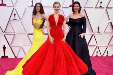 Look de premios Oscar 2021