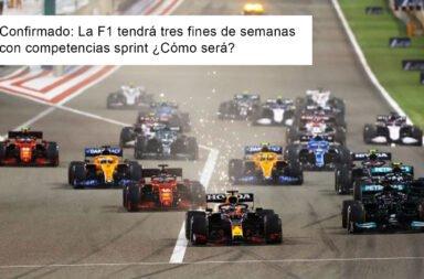 Confirmado: La F1 tendrá tres fines de semanas con competencias sprint ¿Cómo será?