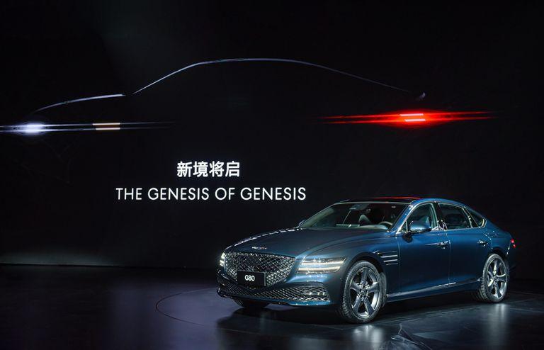 La marca de autos Génesis se presentó en China con un show donde batió un Récord Guinness