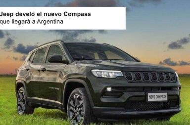 Jeep develó el nuevo Compass que llegará a Argentina