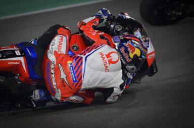 Jorge Martin se lució en Doha y se quedó con su primera pole en Moto GP