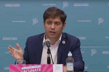 """Kicillof anuncio medidas para reducir los contagios de coronavirus y dijo que la segunda ola es un """"tsunami"""""""