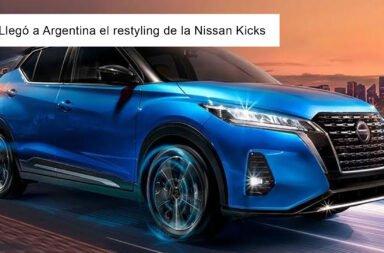 Llegó a Argentina el restyling de la Nissan Kicks