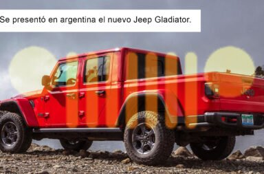 Llegó a Argentina la Jeep Gladiator