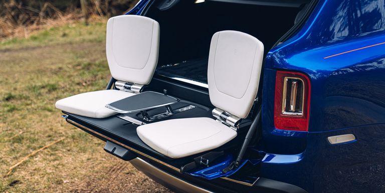 Así es increíble baúl versátil y con accesorios que presentó Rolls-Royce