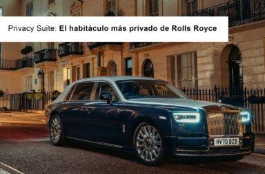 Privacy Suite: El habitáculo más privado de Rolls Royce