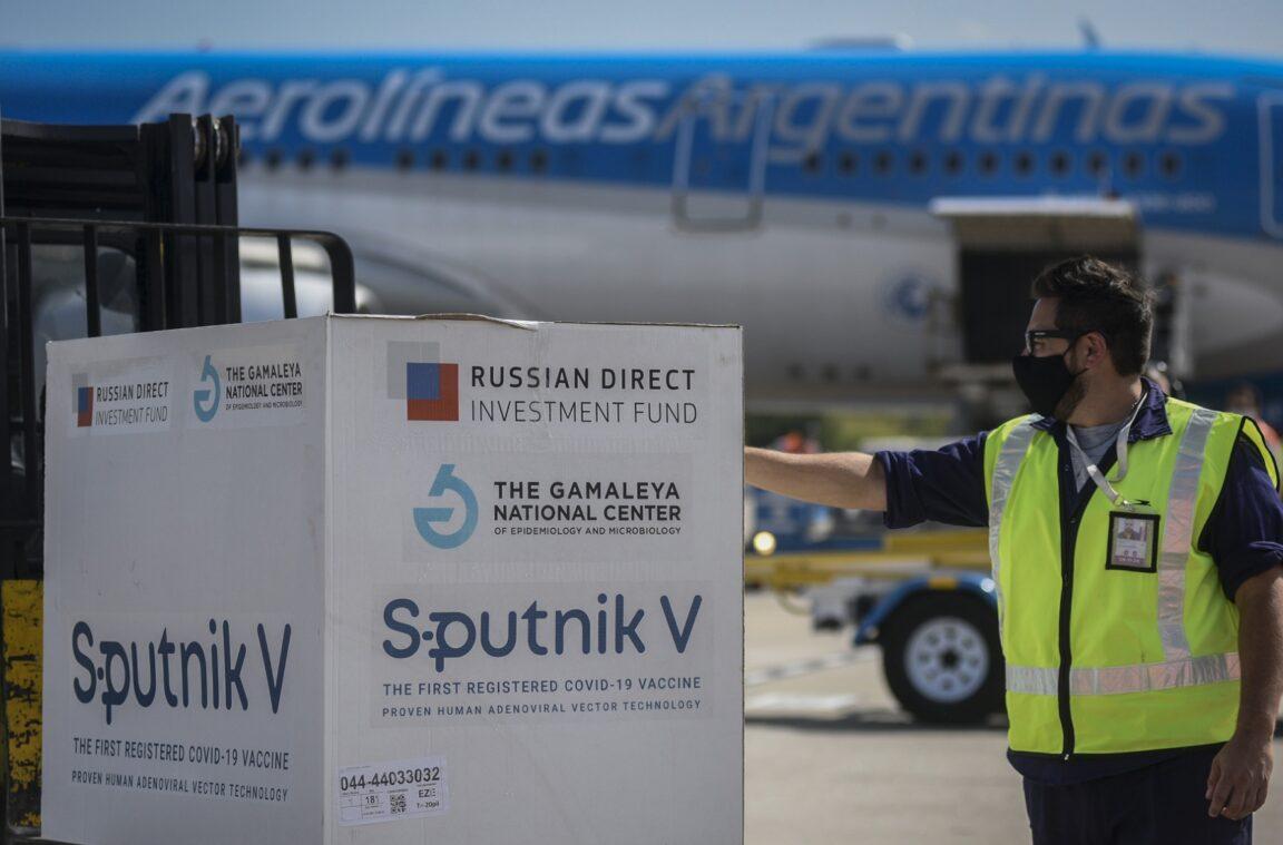 El domingo llegarán nuevas dosis de la vacuna Sputnik V